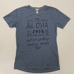 Diesel Beachwear T-Shirt Mens Medium Short Sleeve